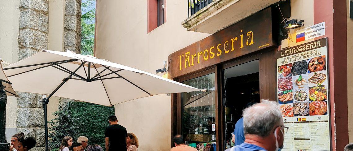 Arrosseria Andorra les millors paelles Arròs amb escamarlans frescos i sèpia de platja Paellas Top10